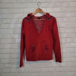 Lucky Brand hooded sweatshirt